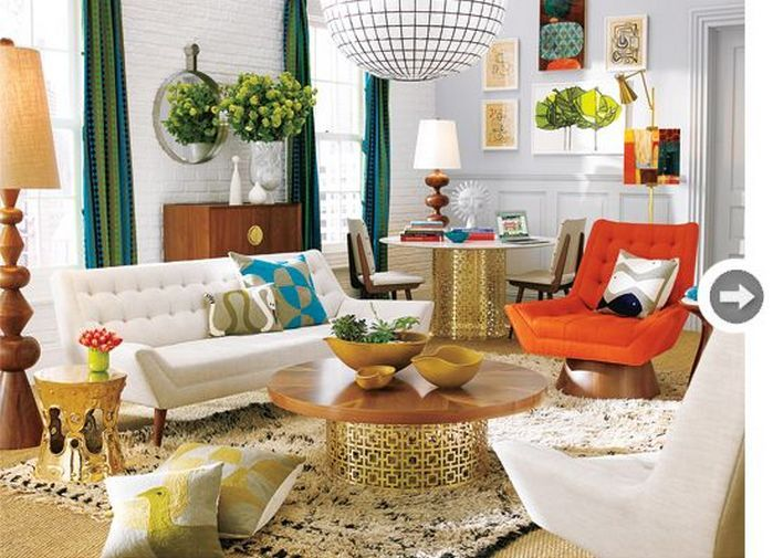 50+ Spring Color Home Decor Living Rooms_7