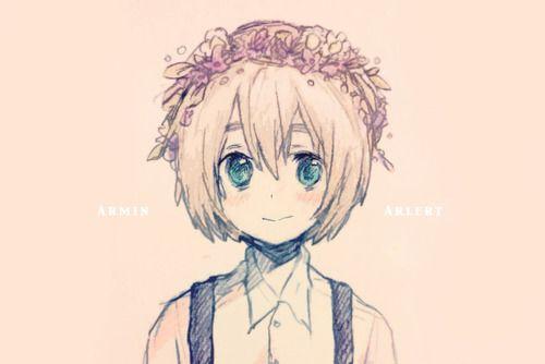 Armin Flowercrown 3 Attack On Titan Anime Shingeki No