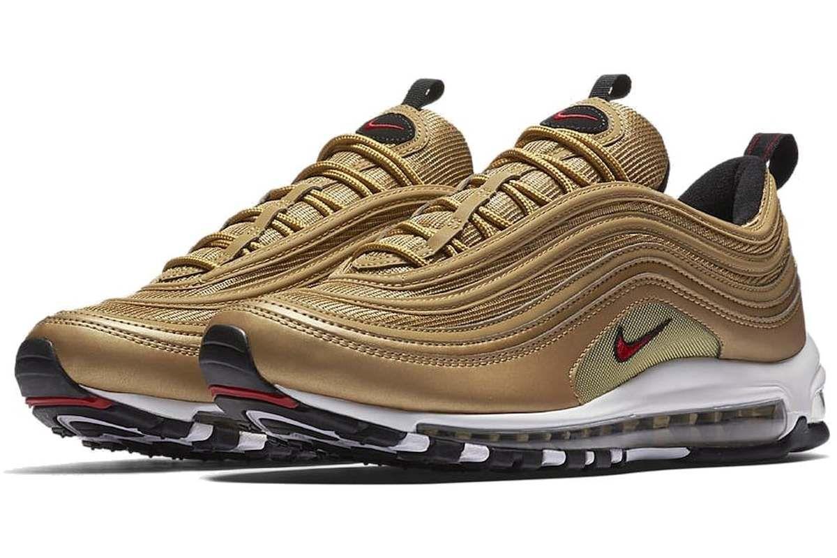 Nike Air Max 97 OG Goud (Golden Bullet) Rerelease | Nike air