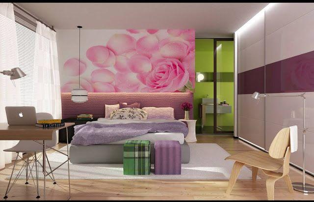 Diseños de Dormitorios con Colores Femeninos : DISEÑO DE INTERIORES Y DECORACIÓN