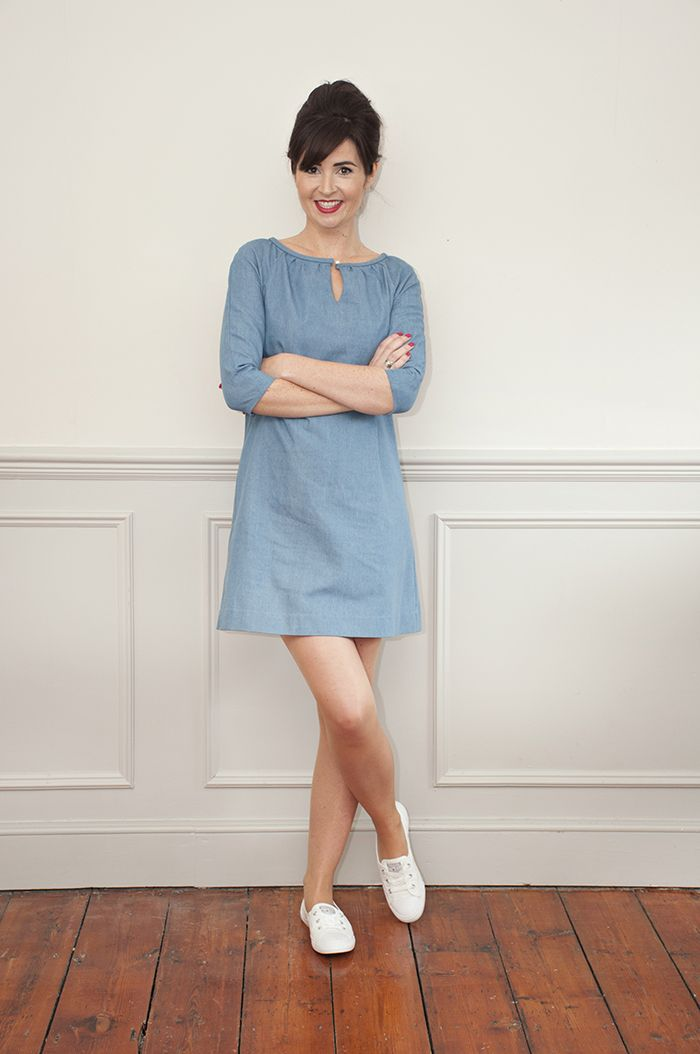 Lulu Dress Sewing Pattern: Sew Over It Online Fabric Shop   VGJ ...