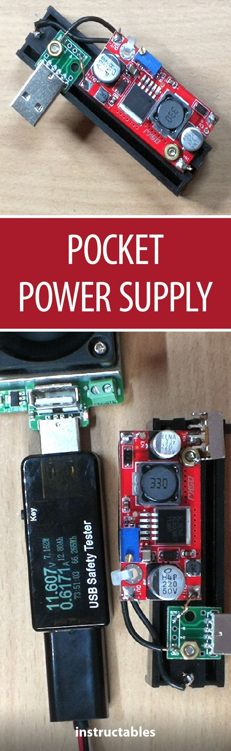 Pocket Power Supply