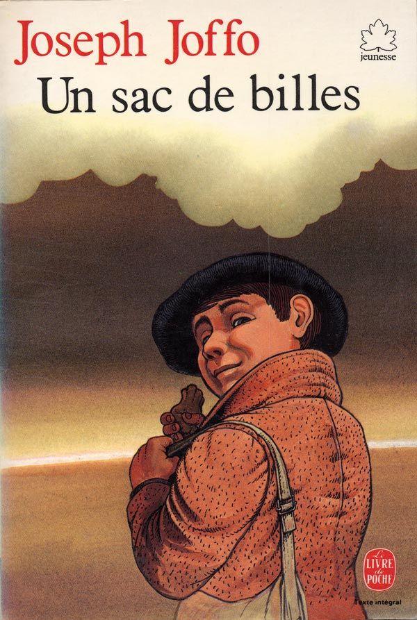 Un Sac De Billes De Joseph Joffo Couverture Et Illustrations Claude Lapointe Le Livre De Poche Jeunesse 1982 Joseph Joffo Livre Livres A Lire