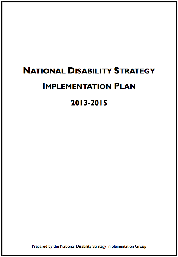 Irish Autism Action Took Part In The National Disability Strategy