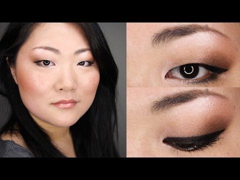 Back To School Office Everyday Bronze Makeup Tutorial For Asian