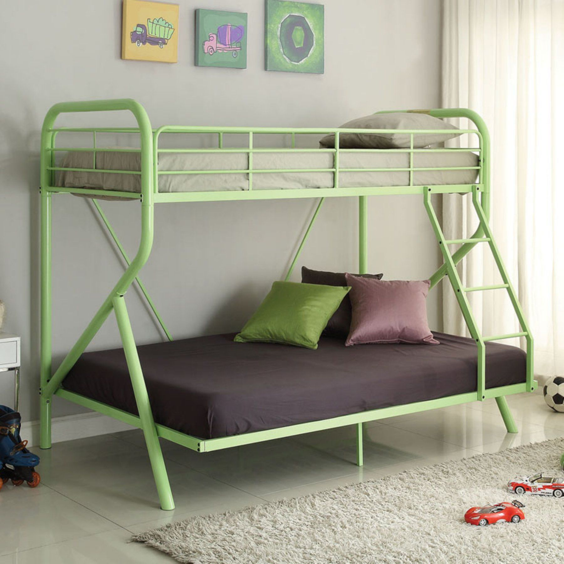 Acme furniture tracy twin over full bunk bed acm2387