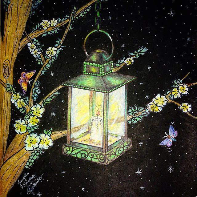 Haja luz. <3 #jardimsecretoinspire #jardimsecretotop #jardimsecreto…