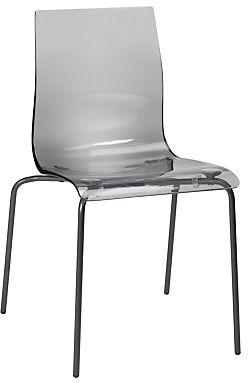 6d83ec560fc John Lewis Gel Anthracite Leg Dining Chair
