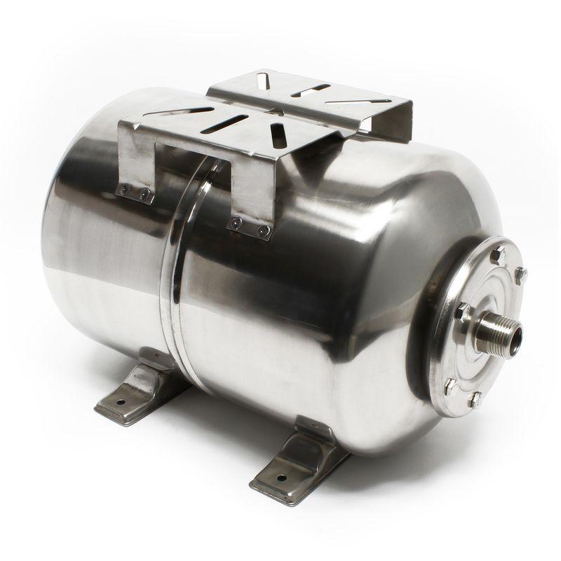 suppresseur pompe 100L INOX R/éservoir pression /à vessie pour la surpression domestique cuve ballon