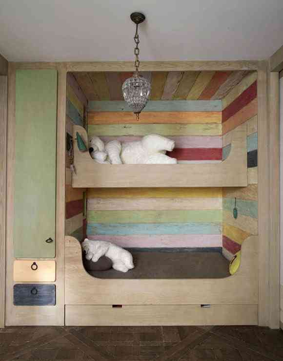 Very Cozy Bunk Beds For Kids.