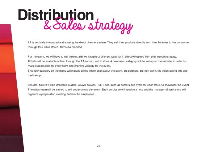 What Is A Distribution Strategy Of A Business Plan - The best