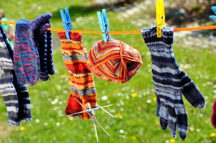 Handschuhe stricken