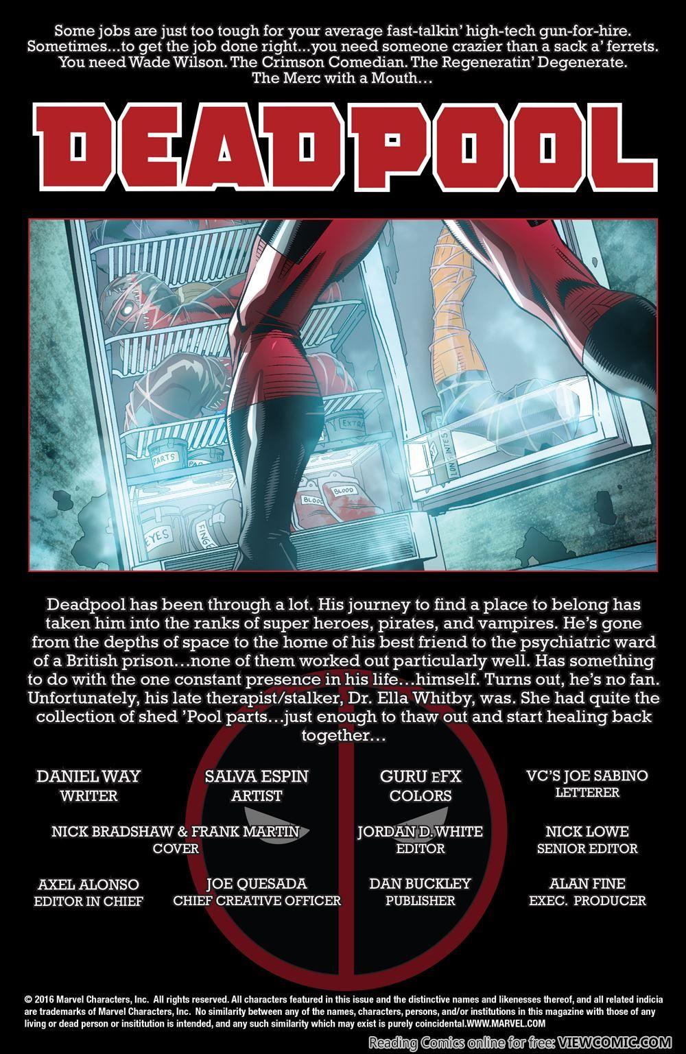 True Believers – Evil Deadpool 001 (2016) ………   Viewcomic reading comics online…