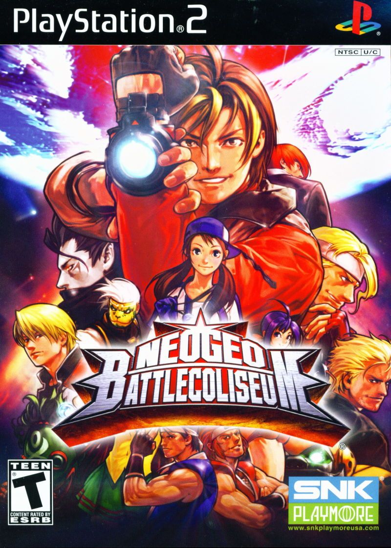 Neogeo Battle Coliseum Sony Playstation 2 Game Ps2 Games To Get