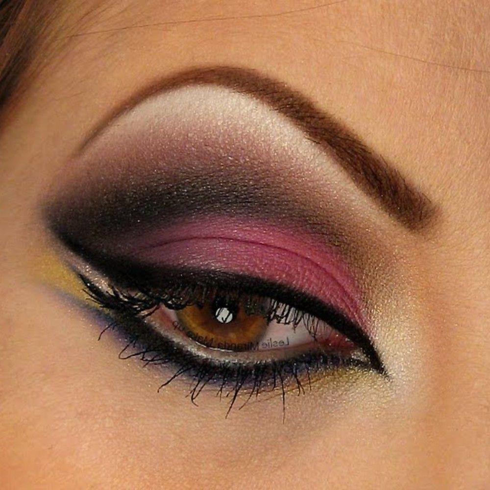 Arabic Eye Makeup | Best Arabic Eye Makeup Tutorial For Brown Eyes ...