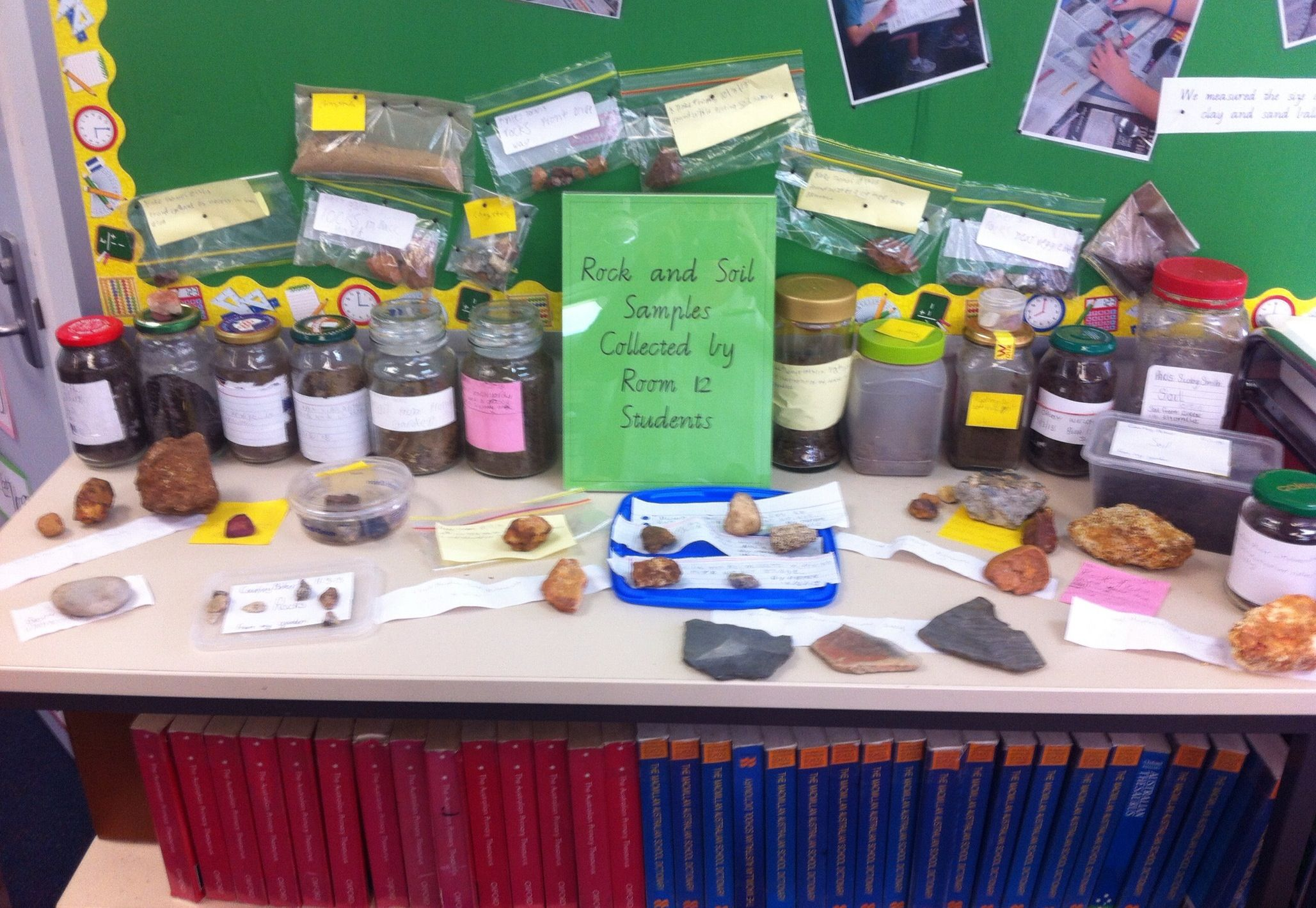 Get The Kids To Bring In Rock And Soil Samples To Explore