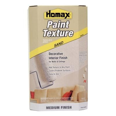 Homax Sand Texture Paint Additive 8474 The Home Depot Paint Additive Texture Painting Sand Textures