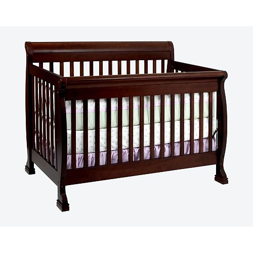 The Davinci Kalani Convertible Crib In Espresso Is Cool And Confident Its Davinci At Its Best With Best Baby Cribs Baby Crib Mattress Baby Cribs Convertible