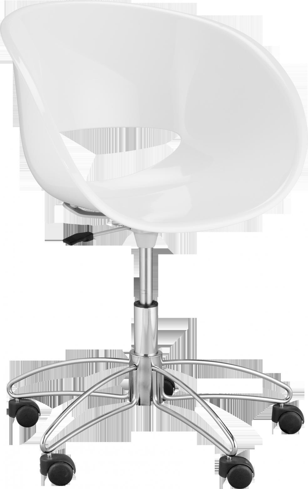 Eye Chaise De Bureau En Plastique Moule Habitat 280 Luminaire Design Mobilier De Salon Chaise Bureau