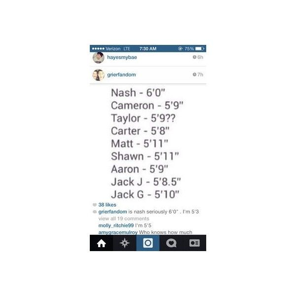 Carter Magcon Tour 2014 ❤ liked on Polyvore featuring magcon