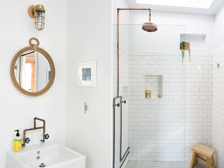 A budget renovation for a stylish la guest house