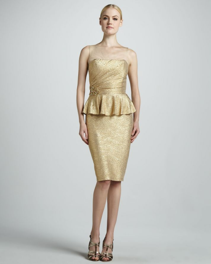 dafaf92d1ea Why not wear metallics to a wedding you re attending this summer  Guests  can shine bright too!