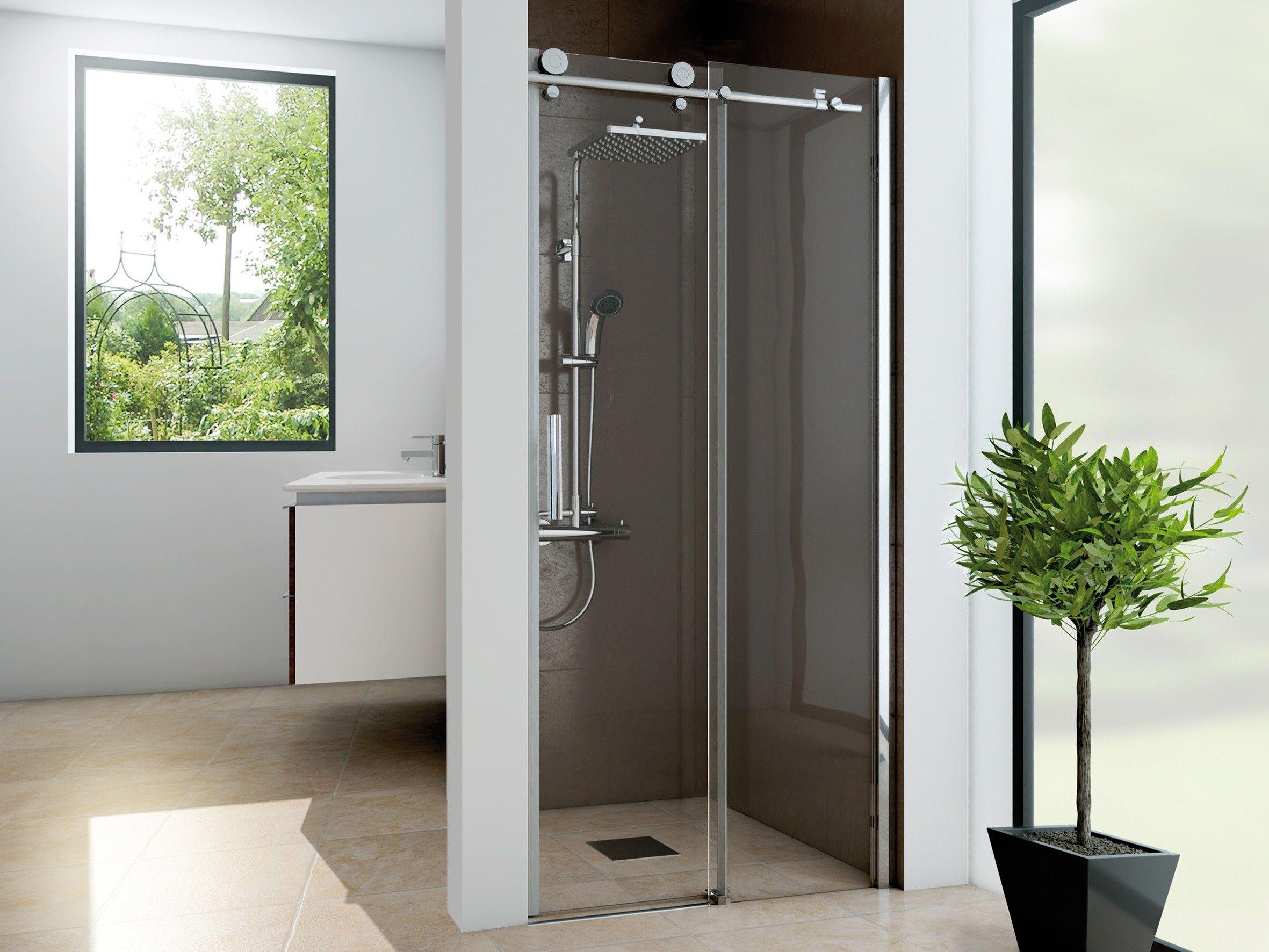 Dusche Nischentur Schiebetur 120 X 220 Cm Bad Design Heizung Nischentur Schiebetur Duschtur