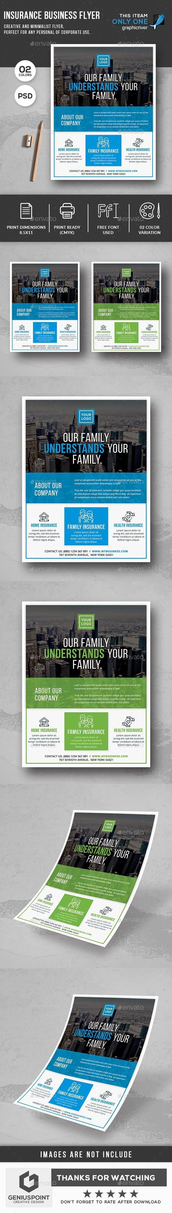 Insurance Business Flyer | Business flyer, Business ...