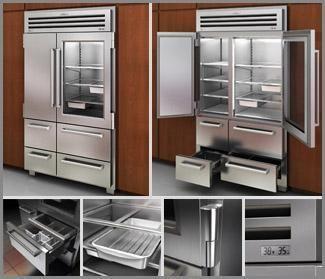 Sub zero refrigerator home pinterest cocinas hogar for Menaje de cocina industrial