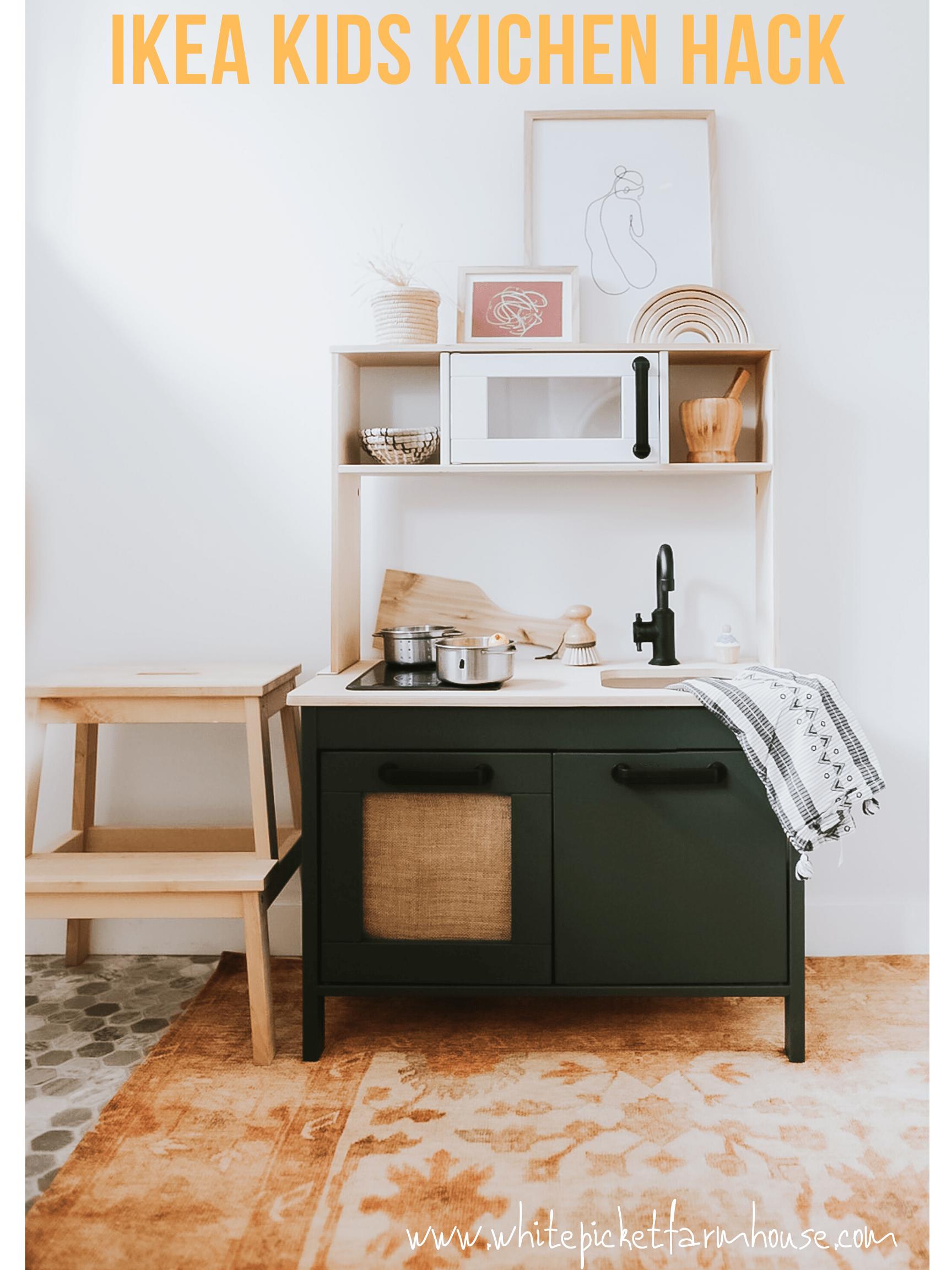 Ikea Kids Kitchen Hack [ DUKTIG Play Kitchen DIY in 2020