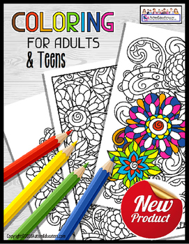 Occupational Therapy Coloring Printables For Teens And Adults Free Printable Coloring Pages Coloring Pages Free Printable Coloring