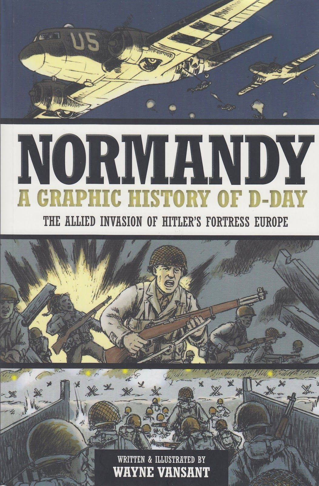 Bring History Alive Through Graphic Novels Normandy Action