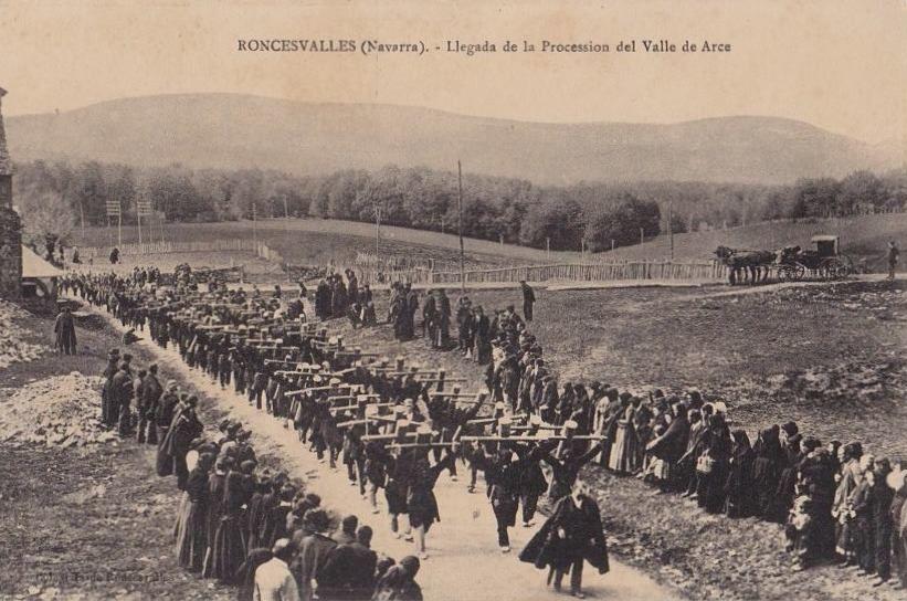 RONCESVALLES-valle de arce