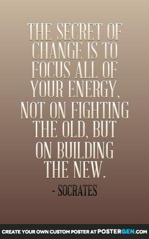 Secret Of Change Print