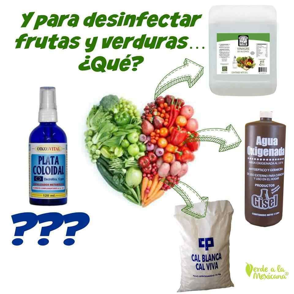Como Desinfectar Las Frutas Y Verduras Sin Quimicos Toxicos