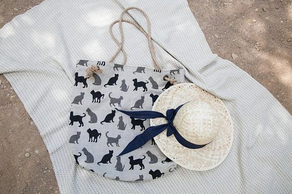 Beach bag. Summer vacation bag.   Vacation bag, Beach bag ...