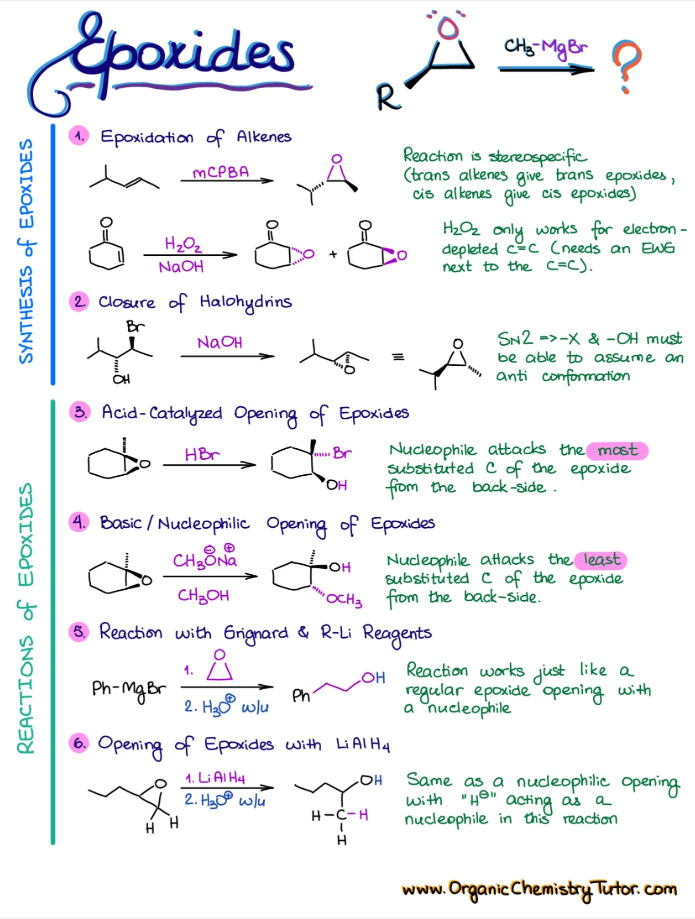 Ethers Epoxides Sulfides