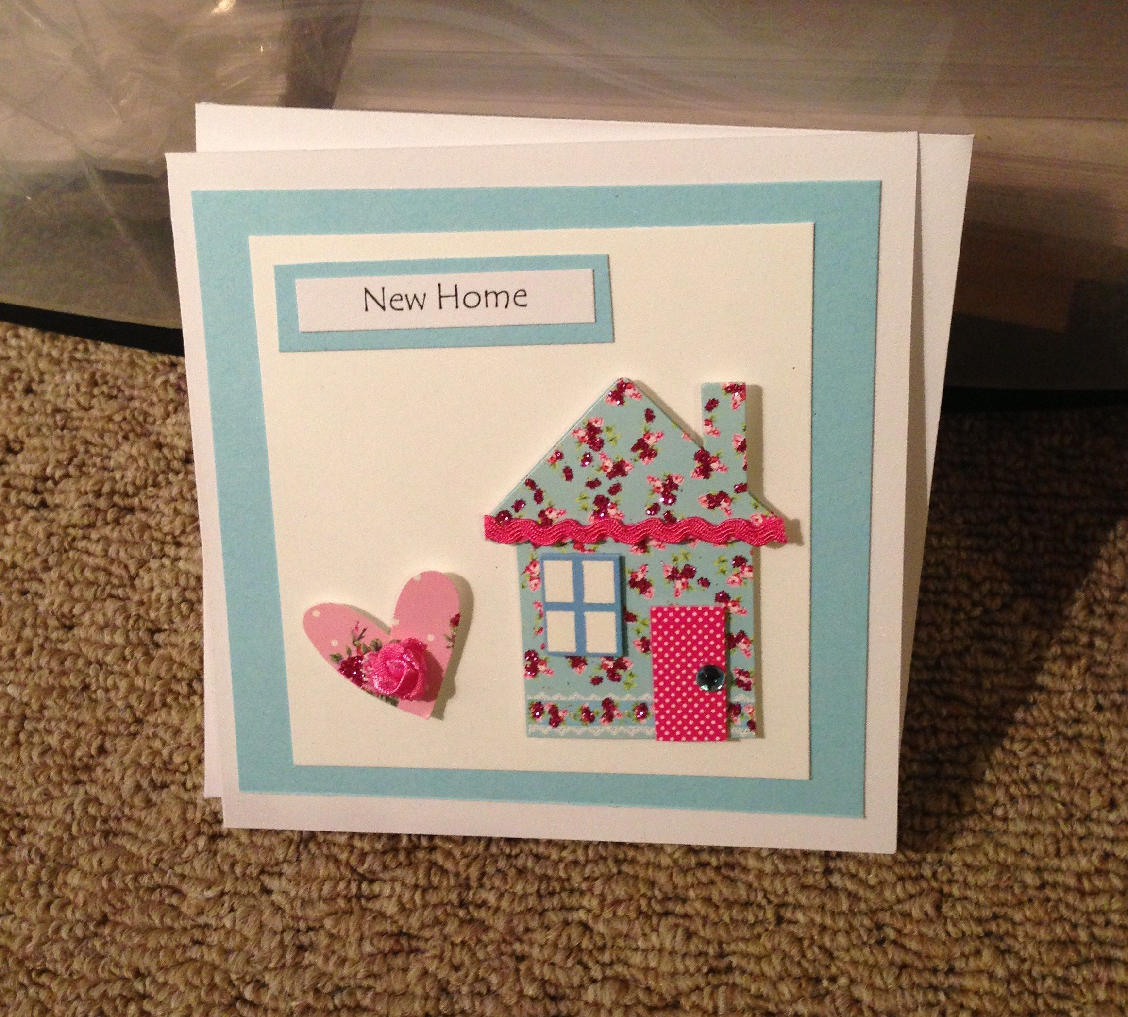 pintwila theede on new home cards  welcome home cards