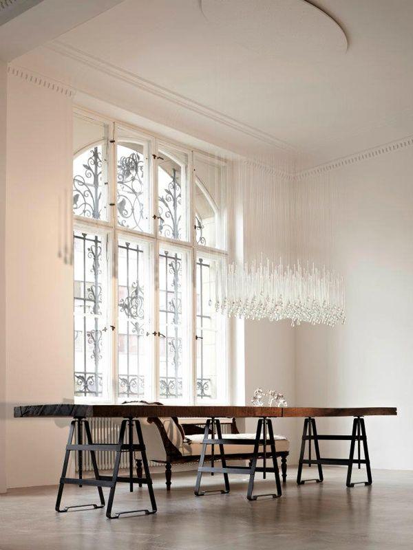 Affe / Lackaffe Tichbock (table trestle) designed by Thesenfitz  Wedekind for Atelier Haußmann.