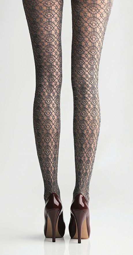2a895b86faee7 Dark Shadow California Boucle Tights | tights & leggings | Lace ...