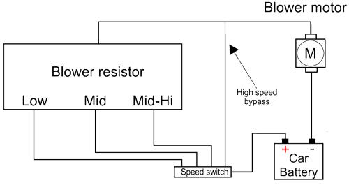 blower #resistor | Free Electronics Circuits | Pinterest