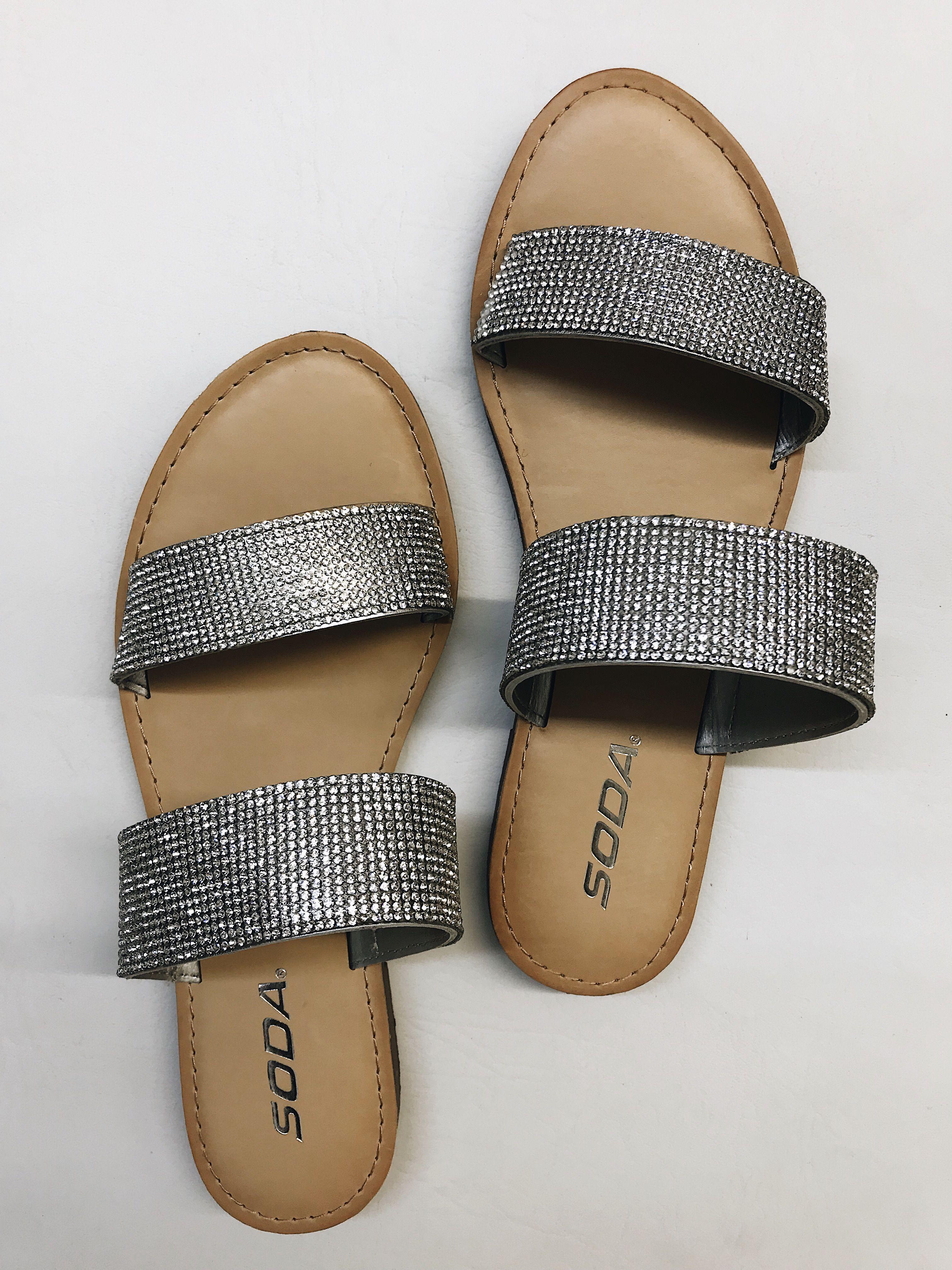 985a19544 #sandal #slide #slidesandals #silver #silvershoes #slipon #sliponshoes  #shoes