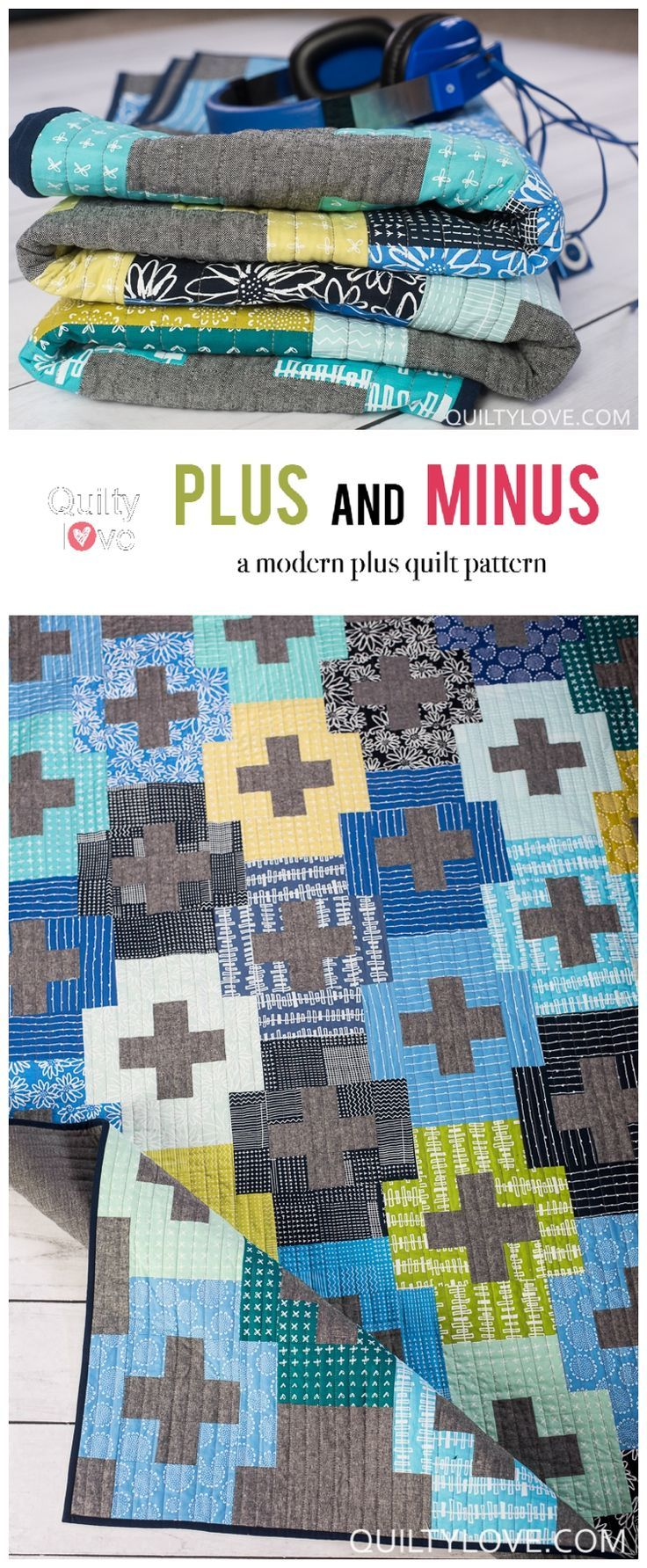 Blueberry Park Plus And Minus Quilt Easy Plus Quilt Quilting Is