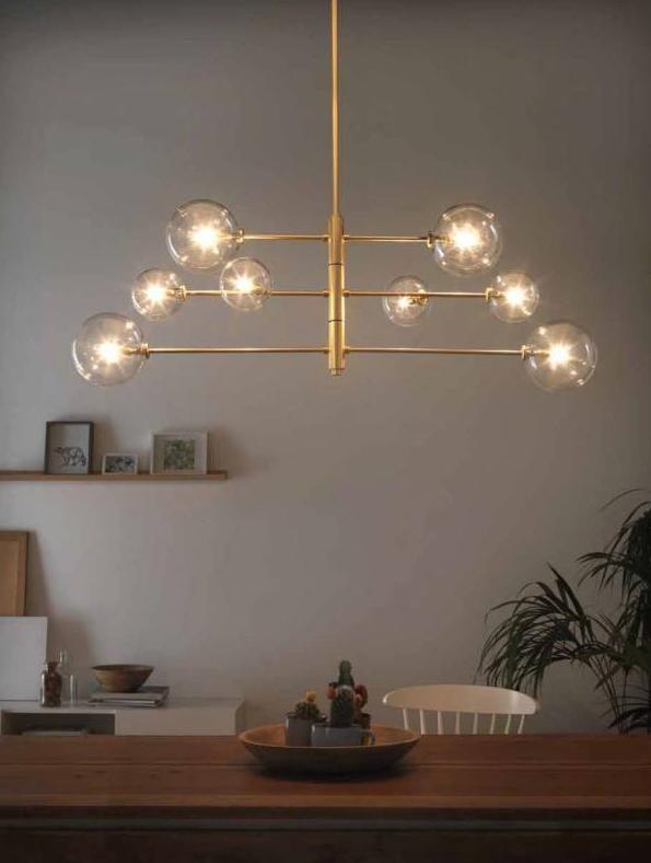 lampes de plafond 6 7 lampes plafond décoration moderne Pinterest - lamparas de techo modernas