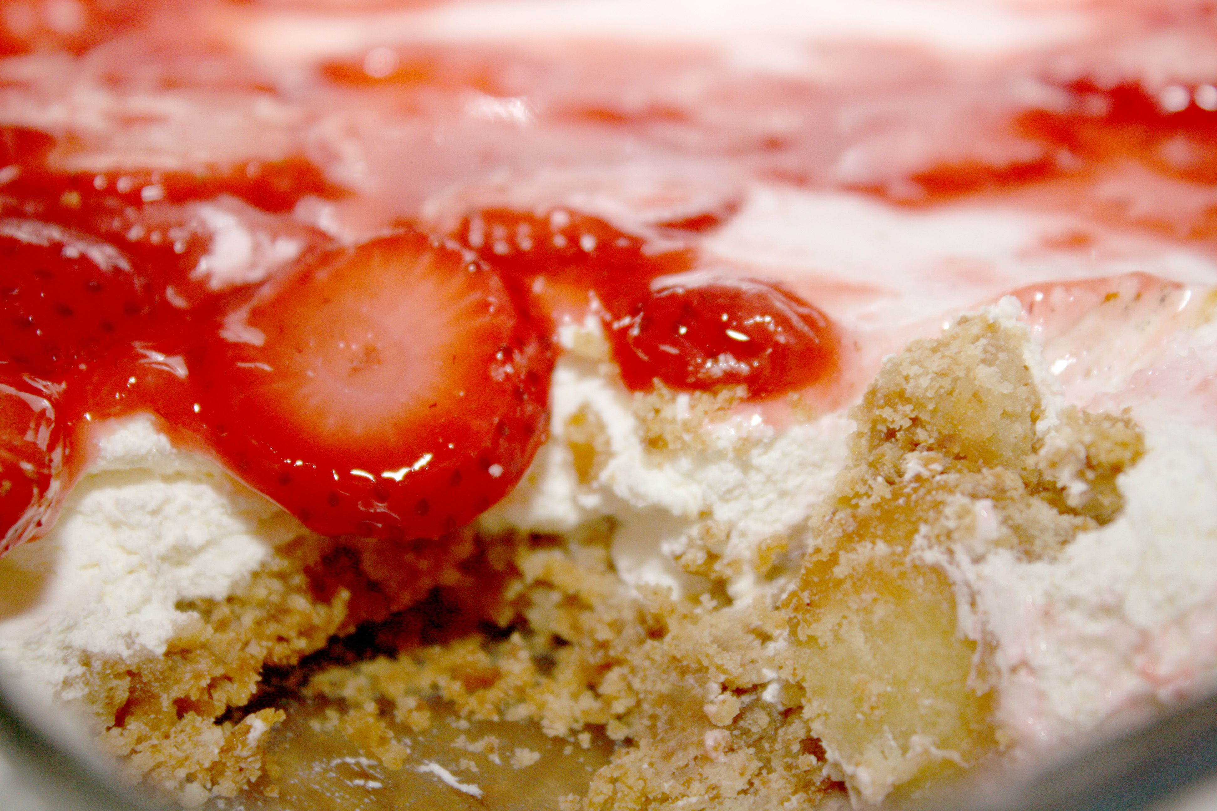 No bake strawberry cream cheese pie | Recipes and cooking | Pinterest