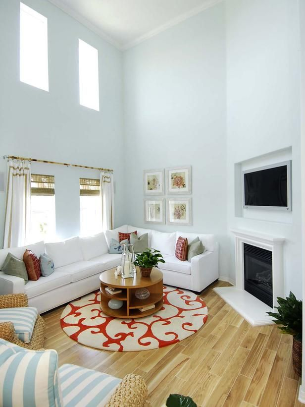 Twostory Living Room  Black Frame Windows  Pinterest  Small Fair Living Room Design For Small House Design Inspiration