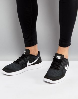 ad9e54d63d844 Nike Running Free Run 2017 Trainers In Black 880839-001