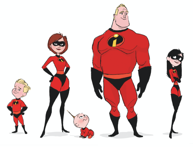 Incredibles 2 Out Now And Full Of Extras The Incredibles Disney Concept Art Favorite Cartoon Character