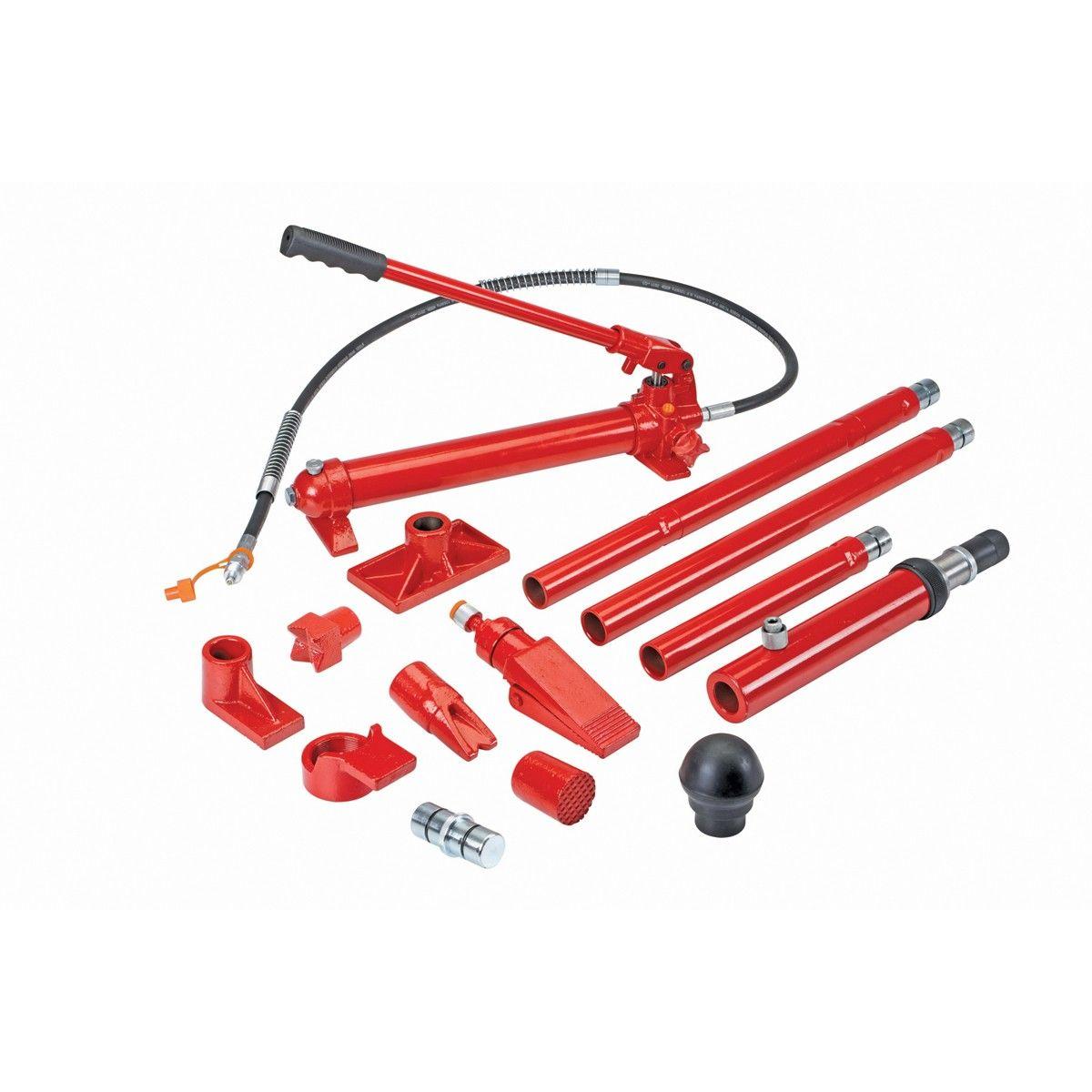 10 Ton Super Heavy Duty Portable Hydraulic Equipment Kit Portable Garage Hydraulic Garage Design