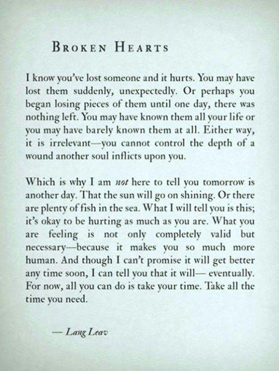 Top 70 Broken Heart Quotes And Heartbroken Sayings 3 | Note